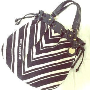 Juicy Couture Nautical Medium Freestyle Terry Hobo